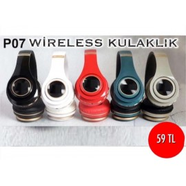 P07 WİRELESS KULAKLIK