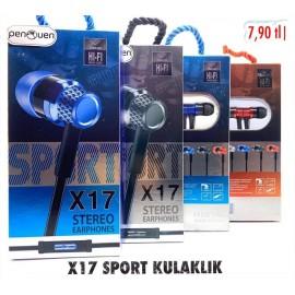 X17 SPORT KULAKLIK