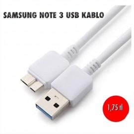 SAMSUNG NOTE 3 USB KABLO