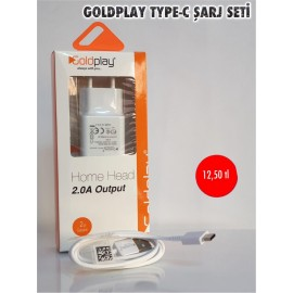 GOLDPLAY TYPE-C ŞARJ ALETİ