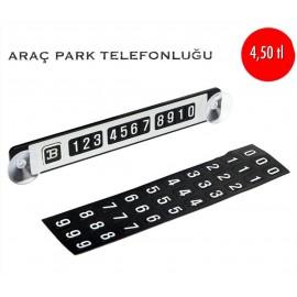 ARAÇ PARK TELEFONLUĞU