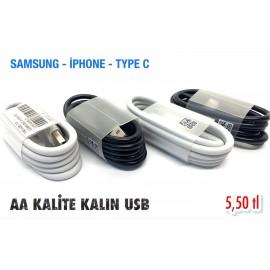 AA KALİTE KALIN USB