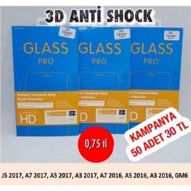 3D ANTİ SHOCK 50 ADET 30 TL