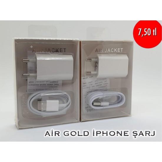 AİR GOLD IPHONE ŞARJ