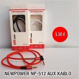 NEWPOWER NP-512 AUX KABLO