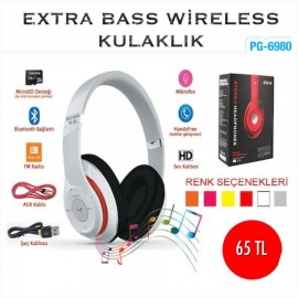 EXTRA BASS WİRELESS KULAKLIK