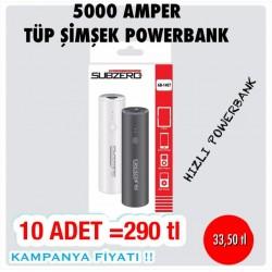 SUBZERO 5000 AMPER TÜP ŞİMŞEK POWERBANK KAMPANYASI