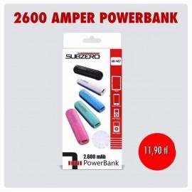 SUBZERO AMPER POWERBANK