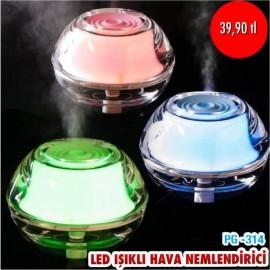 LED IŞIKLI HAVA NEMLENDİRİCİ PG-314