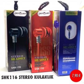 SNK116 STEREO KULAKLIK