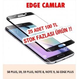 EDGE CAMLAR STOK FAZLASI 25 ADET 100 TL