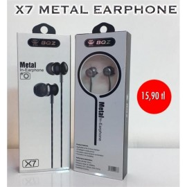 X7 METAL EARPHONE