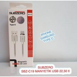 SUBZERO SBZ-C19 MANYETİK USB