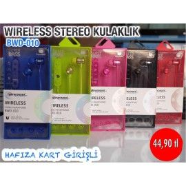 WIRELESS STEREO KULAKLIK BWD-010