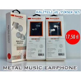 METAL MUSİC EARPHONE