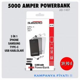 SUBZERO 5000 AMPER POWERBANK