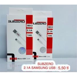 SUBZERO 2.1 A  SAMSUNG USB