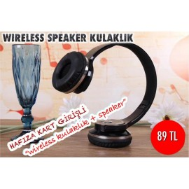 WİRELESS SPEAKER KULAKLIK