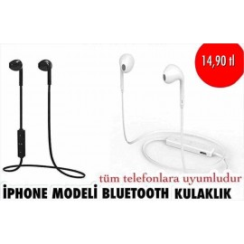 IPHONE MODELİ BLUETOOTH KULAKLIK