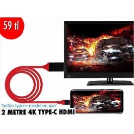 2 METRE 4K TYPE-C  HDMI