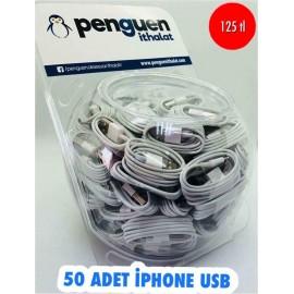 50 ADET İPHONE USB