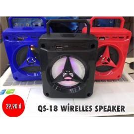 QS-18 WİRELESS SPEAKER