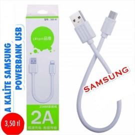 A KALİTE SAMSUNG & IPHONE POWERBANK USB