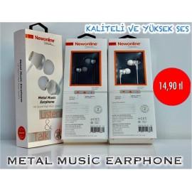 METAL MUSİC EARPHONE