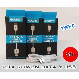 2.1 A ROWEN DATA & USB