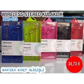 WIRELESS STEREO KULAKLIK BWD-010