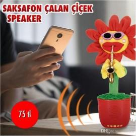 SAKSAFON ÇALAN ÇİÇEK SPEAKER
