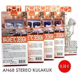 AN68 STEREO KULAKLIK