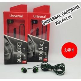 ÜNİVERSAL EARPHONE KULAKLIK