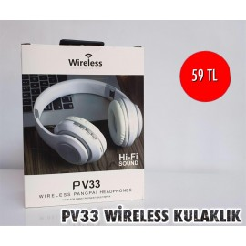 PV33 WİRELESS KULAKLIK