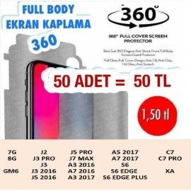 FULL BODY EKRAN KAPLAMA 50 ADET 50 TL