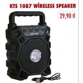 KTS 1087 WİRELESS SPEAKER
