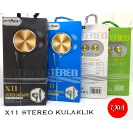 X11 STEREO KULAKLIK