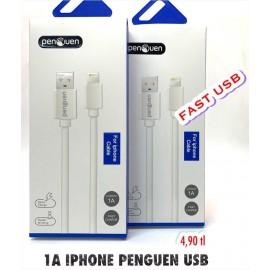 1A İPHONE PENGUEN USB