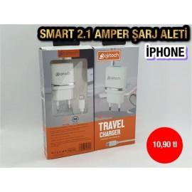 SMART 2.1 AMPER ŞARJ ALETİ - İPHONE