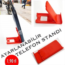 AYARLANABİLİR TELEFON STANDI