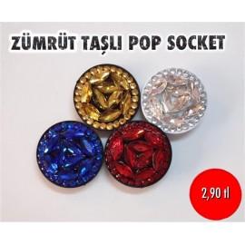 ZÜMRÜT TAŞLI POP SOCKET