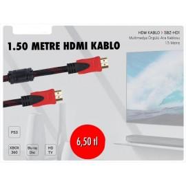 SUBZERO 1.50 METRE HDMI KABLO