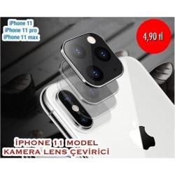 IPHONE 11 MODEL KAMERA LENS ÇEVİRİCİ