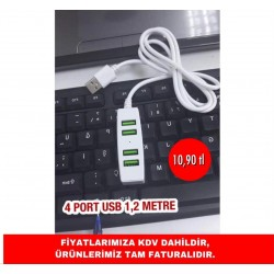4 PORT USB 1.2 METRE