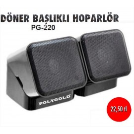 DÖNER BAŞLIKLI HOPARLÖR PG-220