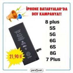 İPHONE BATARYA DA DEV KAMPANYA!!