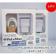 PALEMAX SAMSUNG S7 ŞARJ SETİ