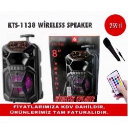 KTS-11338 WİRELESS SPEAKER