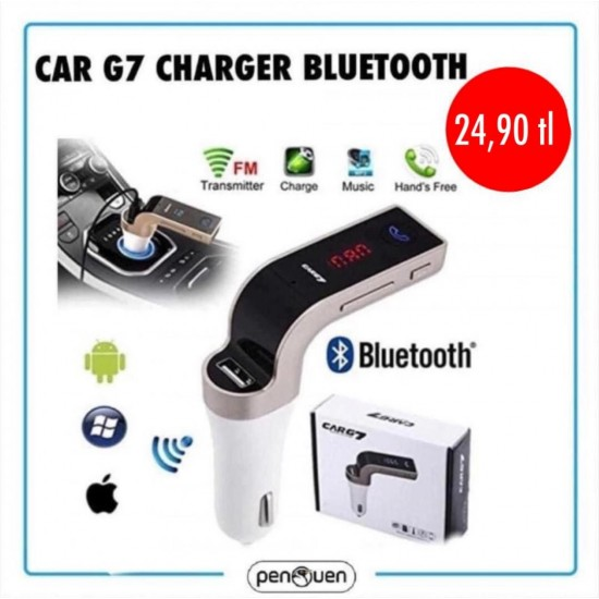 CAR G7 CHARGER BLUETOOTH