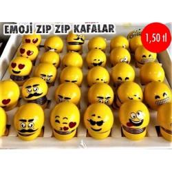 EMOJİ ZIP ZIP KAFALAR